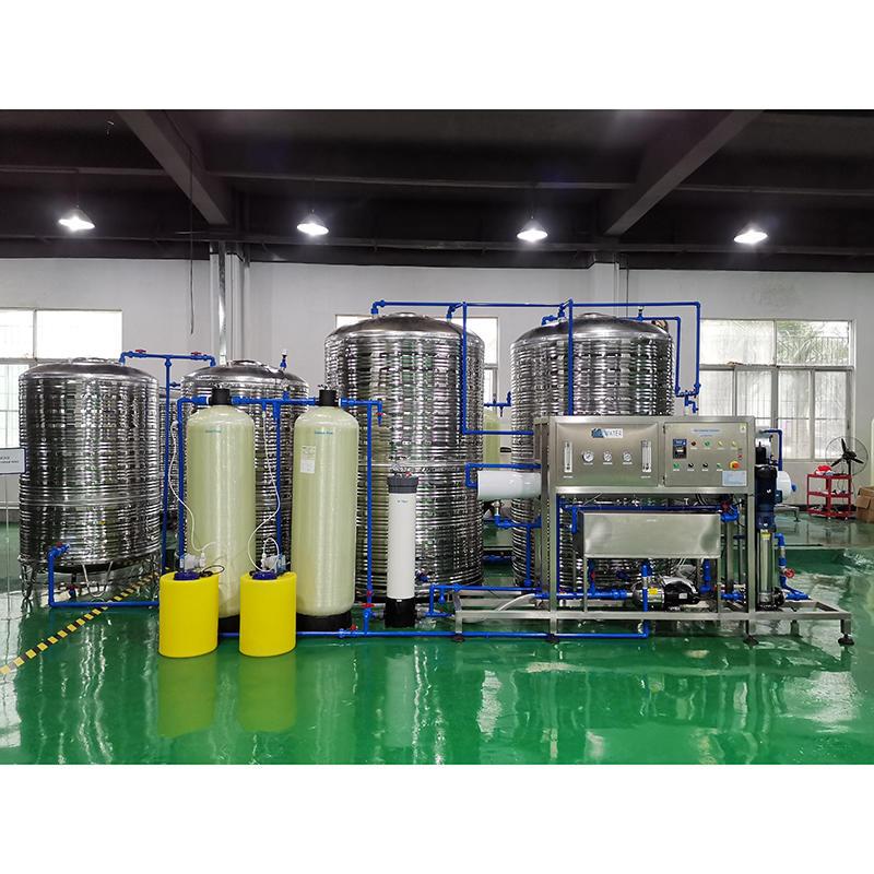 instalación y puesta en servicio de tratamiento de agua