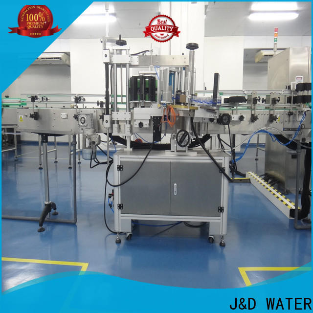 J&D WATER High Speed automatic sticker labeling machine convenient for film lables