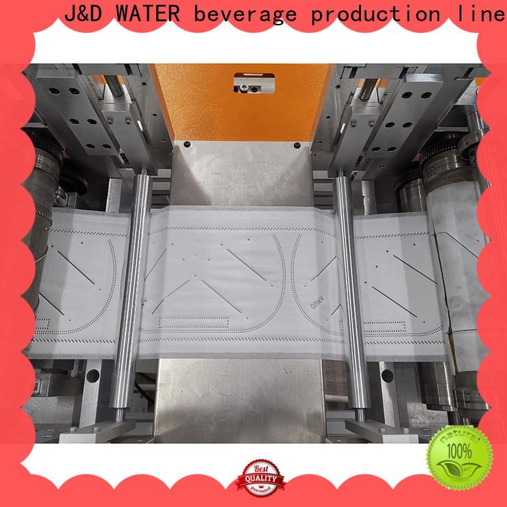 J&D WATER facial mask making machine adjusted manufacturing