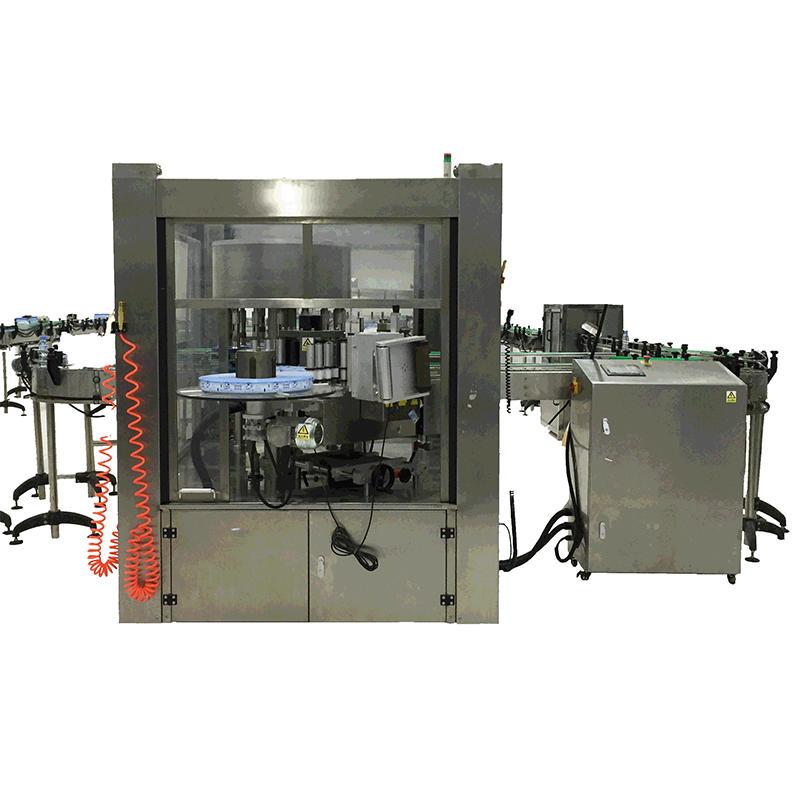 Automatic hot melt adhesive OPP labeling machine