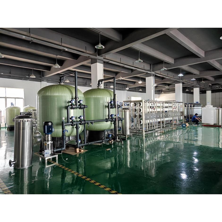 1-10 tonels Osmosis inversa RO Máquinas de tratamiento de agua