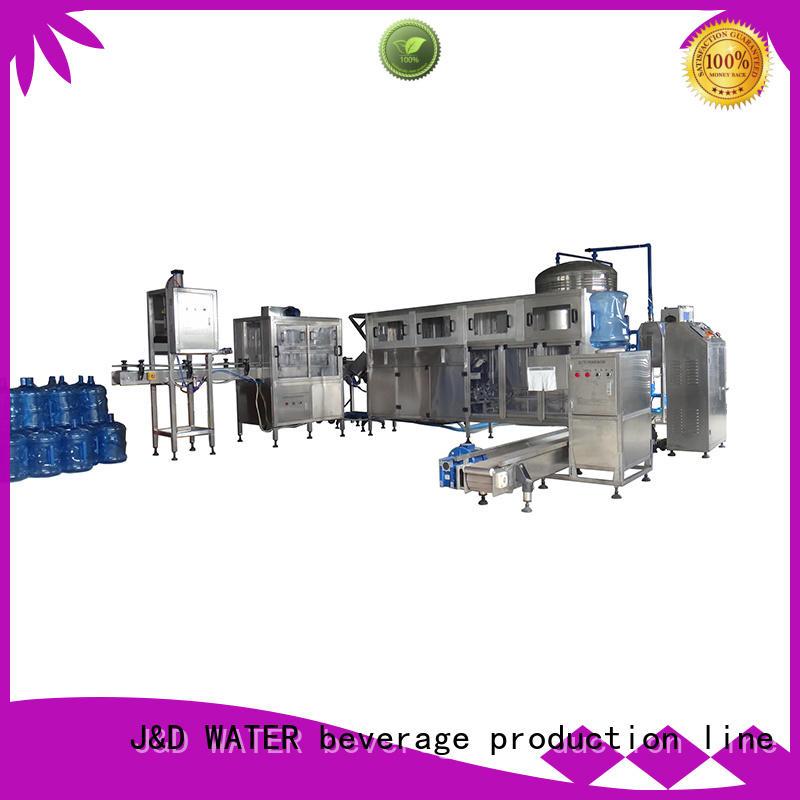 stainless steel filling equipment stable running for oil