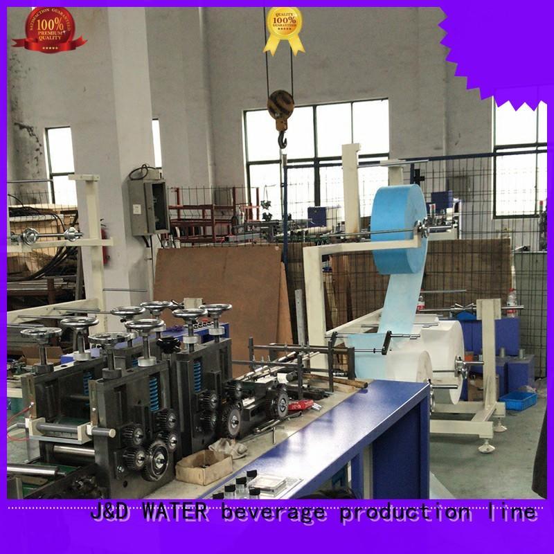 J&D WATER facial mask machine convenient wholesale price