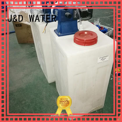J&D WATER osmosis machine With Steel for industrial waste treatment