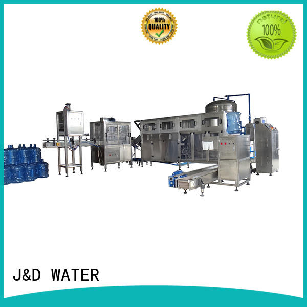 J&D WATER professional water plant stable running for oil