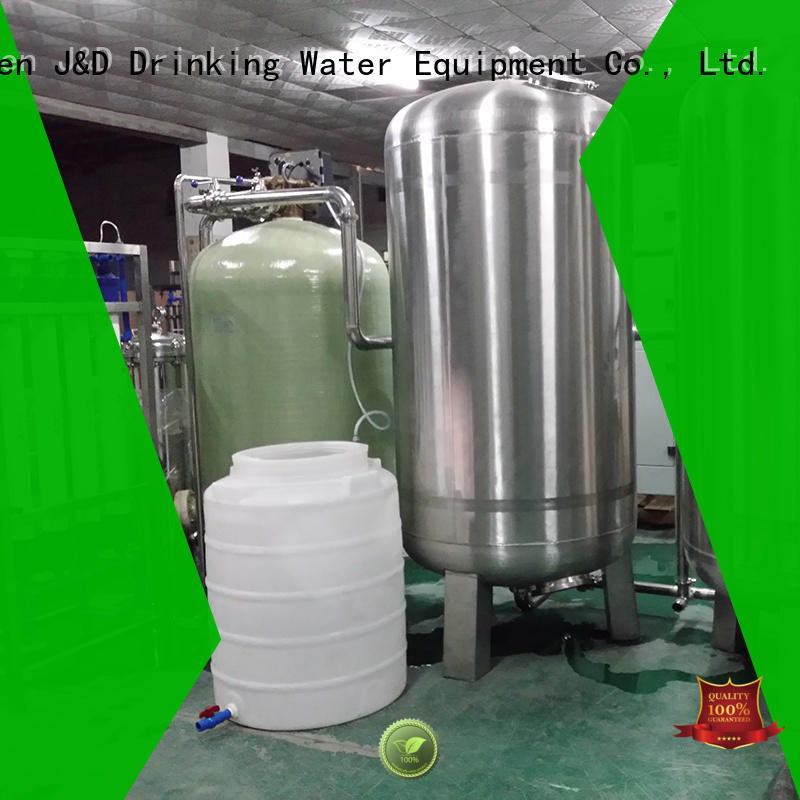 J&D WATER filter reverse osmosis machine auto wash for industrial waste treatment