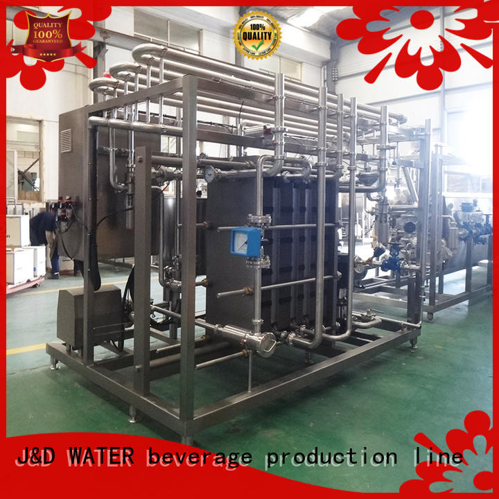 J&D WATER easy operation drinking Pasteurization System competitive price for sale