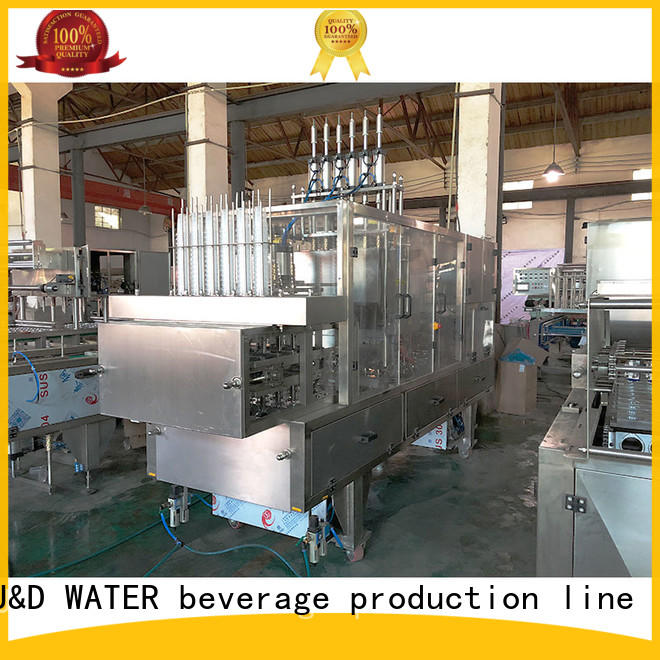 J&D WATER easy operation cup sealing machine engineering for PET plastic