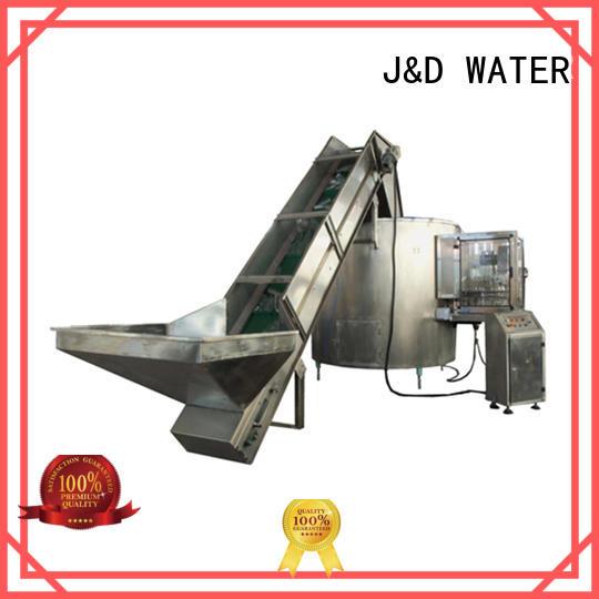 J&D WATER adjusted filling machine manufacturer high automation for vinegar