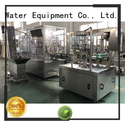 larger capacity bottle sealing machine complete function for tea J&D WATER