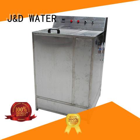J&D WATER intelligent industrial bottling machine engineering for Glass bottles