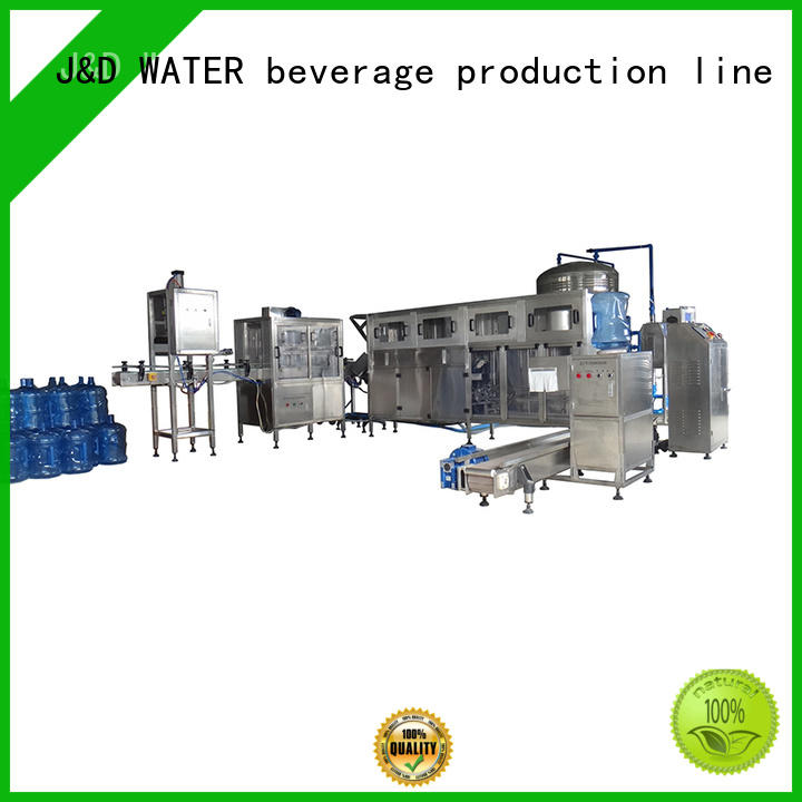 J&D WATER water plant Easy operation for mineral water