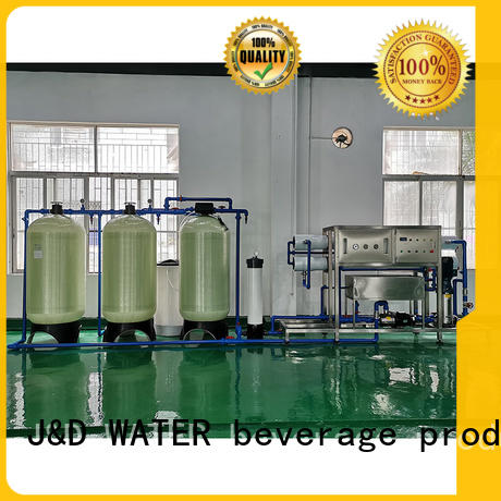 J&D WATER easy operation water treatment machine purifier water