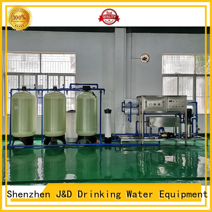 J&D WATER reverse osmosis machine With Steel for pure water