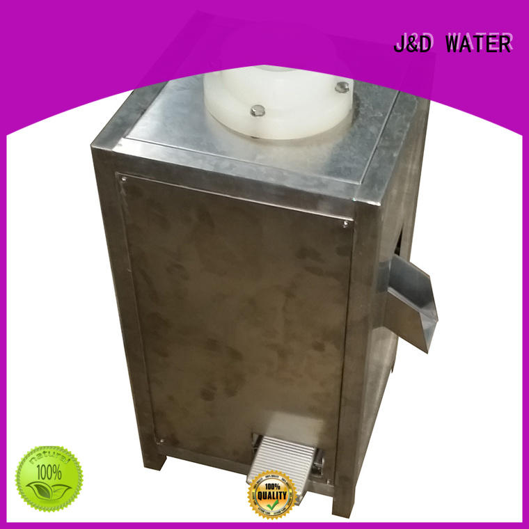 J&D WATER intelligent aseptic bag filling machine stainless steel for juice