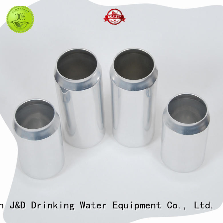 J&D WATER high quality aluminum can top brand from best factory