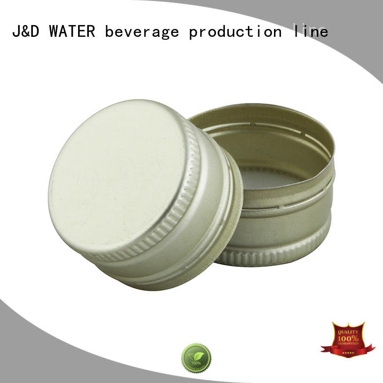 J&D WATER cap supply factory supply for bottle factory
