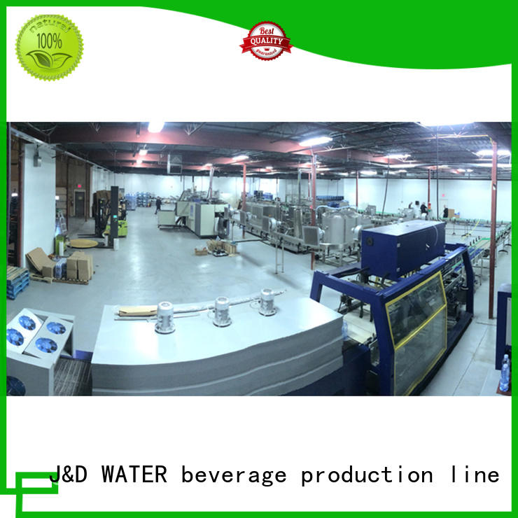 J&D WATER water production line high accuracy for beverage
