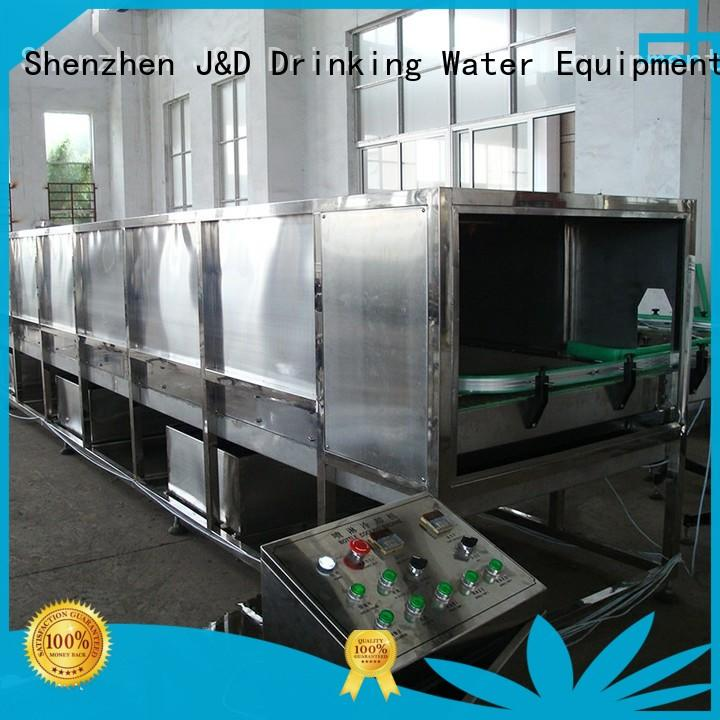 J&D WATER intelligent bottle capping machine engineering for milk