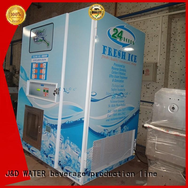 J&D WATER high quality cool vending machines hot sale at best price