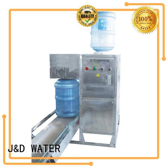 J&D WATER advanced technology soda filling machine for milk