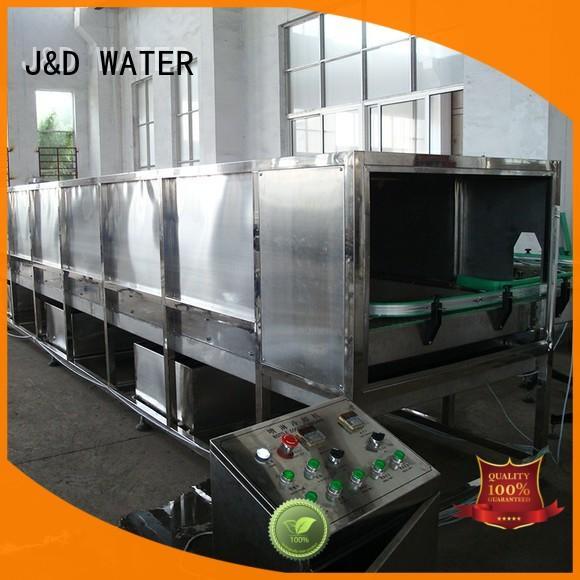 J&D WATER water bottling machine complete function for milk