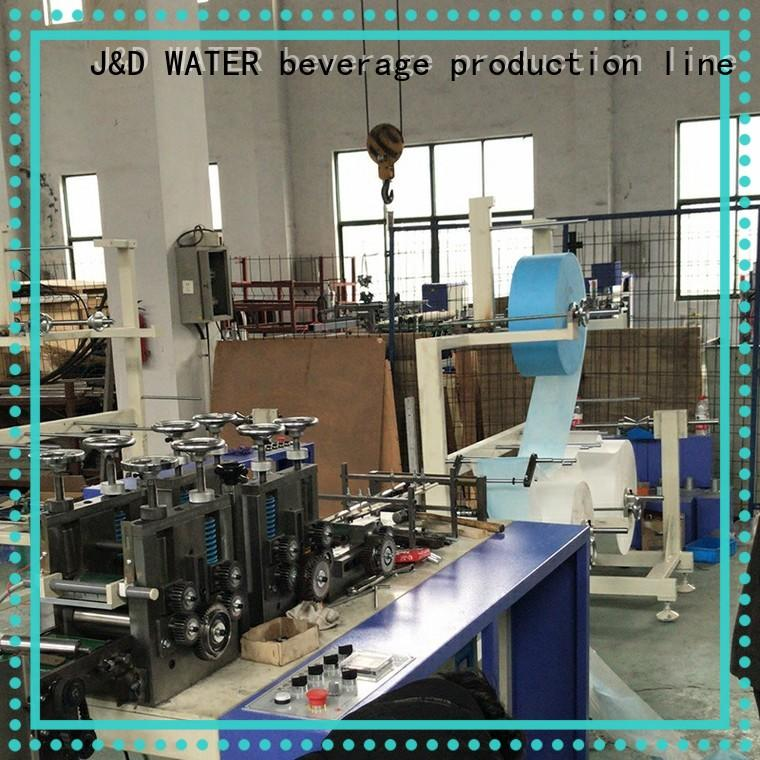 J&D WATER fast delivery mask making machine convenient high quality