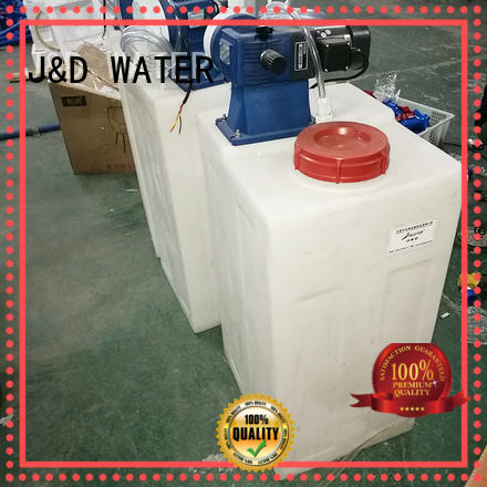 J&D WATER standrad commercial reverse osmosis system with Glass Tank for pure water