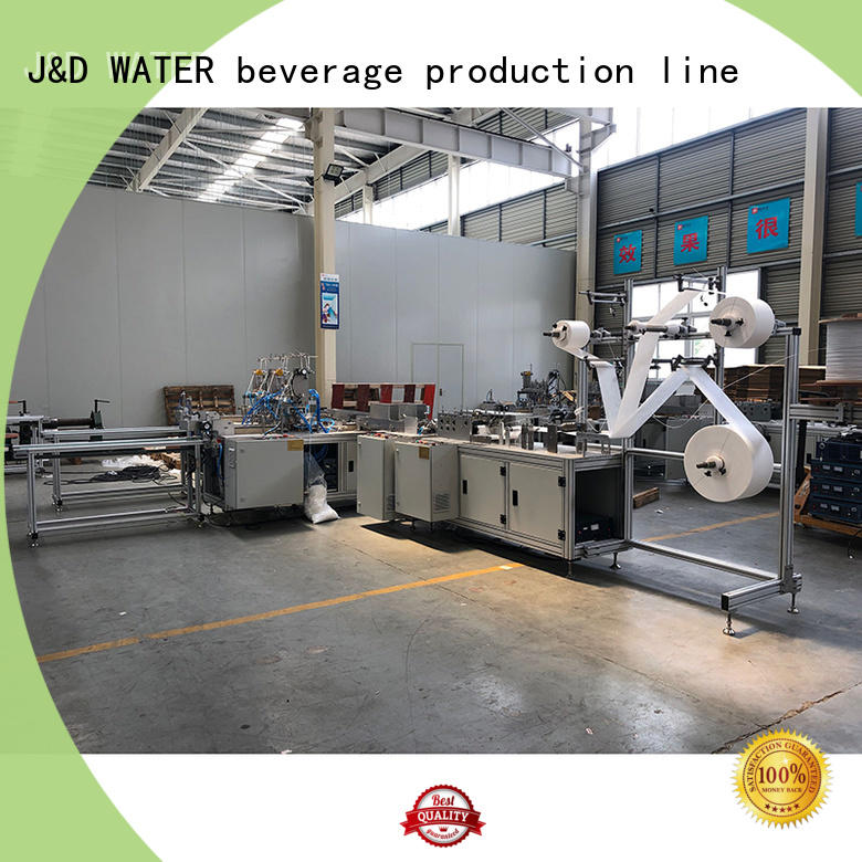 J&D WATER face mask machine cost effective for mask