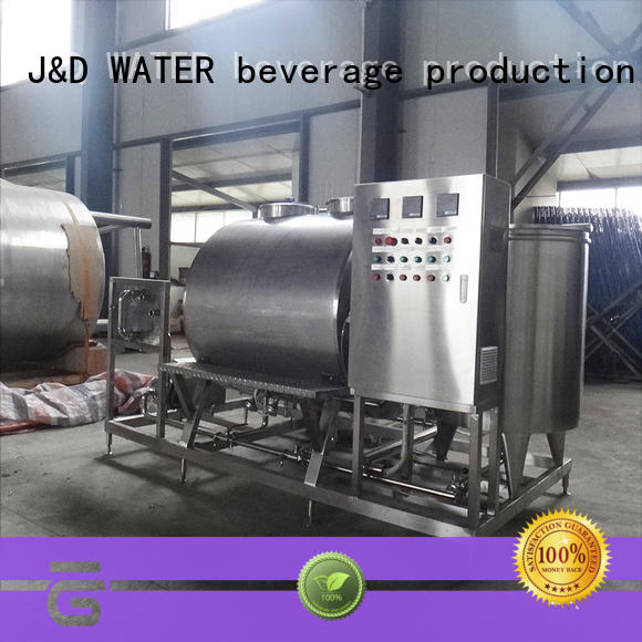 J&D WATER fast installation drinking Pasteurization System favorable quality oem&odm