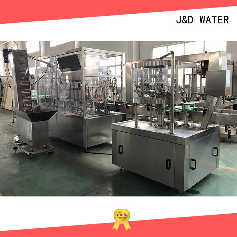 J&D WATER water bottling equipment high automation for sauce