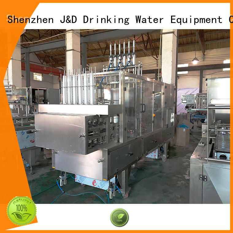 J&D WATER jndwater cup filling machine convenient for beverage
