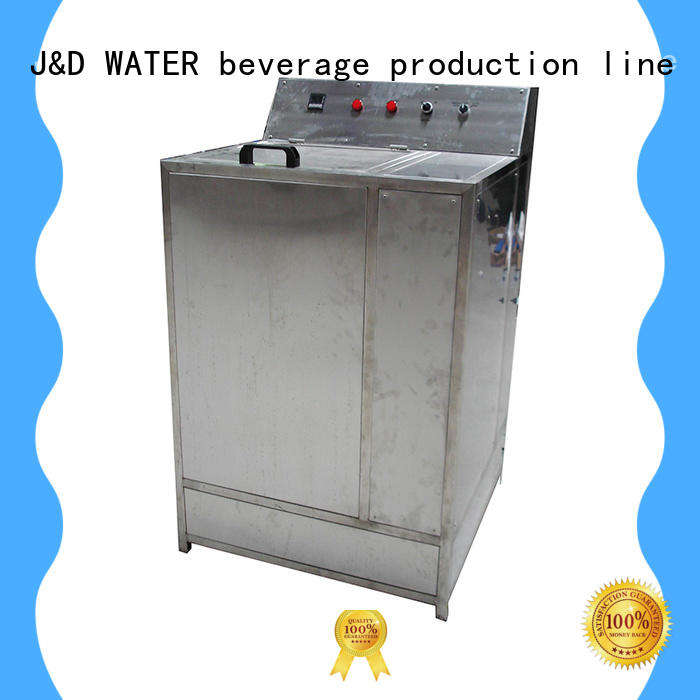 J&D WATER intelligent poweder filling machine factory for pure water