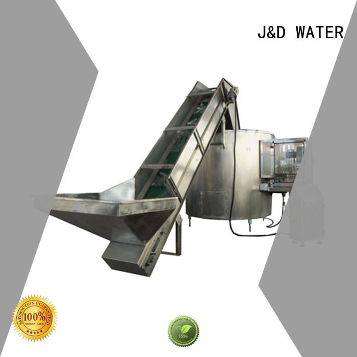 J&D WATER intelligent plastic bottle sealing machine factory for mineral water