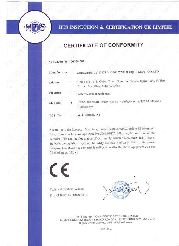 JD WATER-Professional Desalination Filter Water Desalination Companies Supplier-1