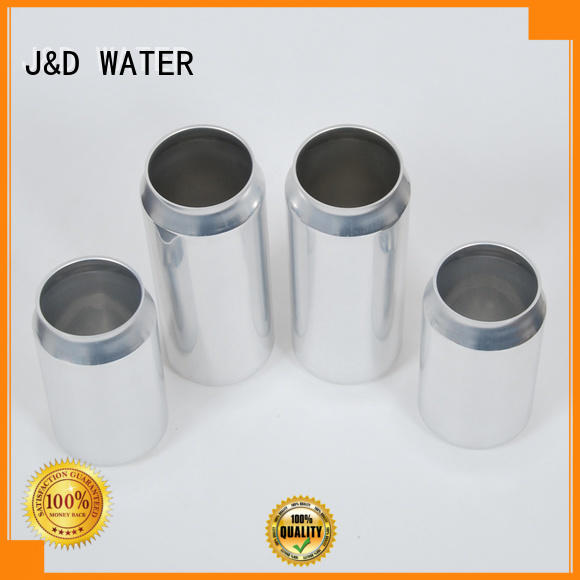 J&D WATER plastic can top brand for packing