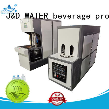 energy saving blow molding machinery with handles for oil bottles