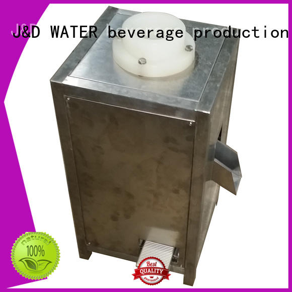 J&D WATER adjusted bottle packing machine factory for mineral water