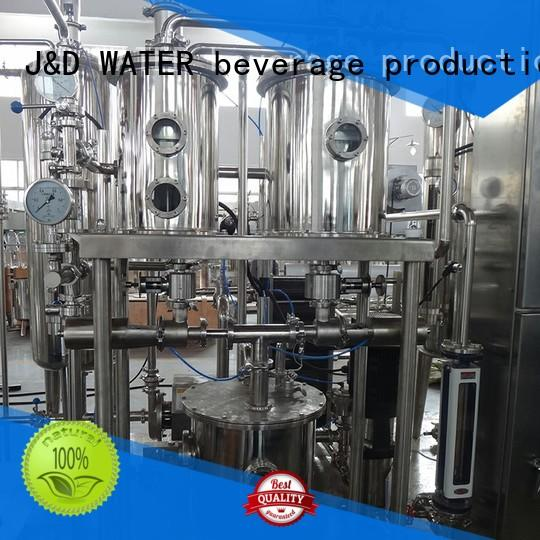 J&D WATER easy operation Homegenizer machine best price for customization