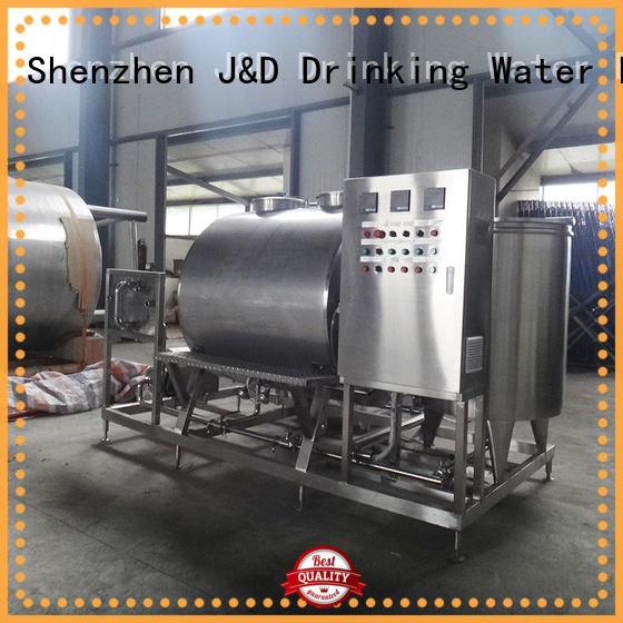 J&D WATER capping machine