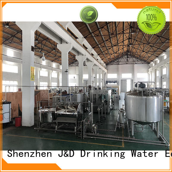 J&D WATER mineral water machine engineering for juice