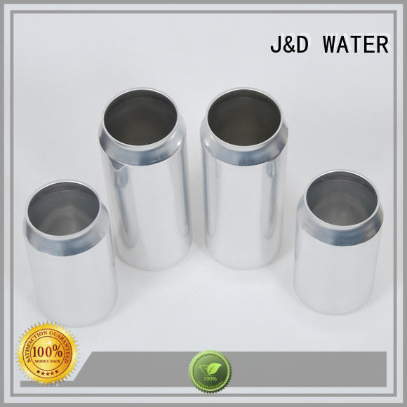 J&D WATER plastic can top brand for water packing
