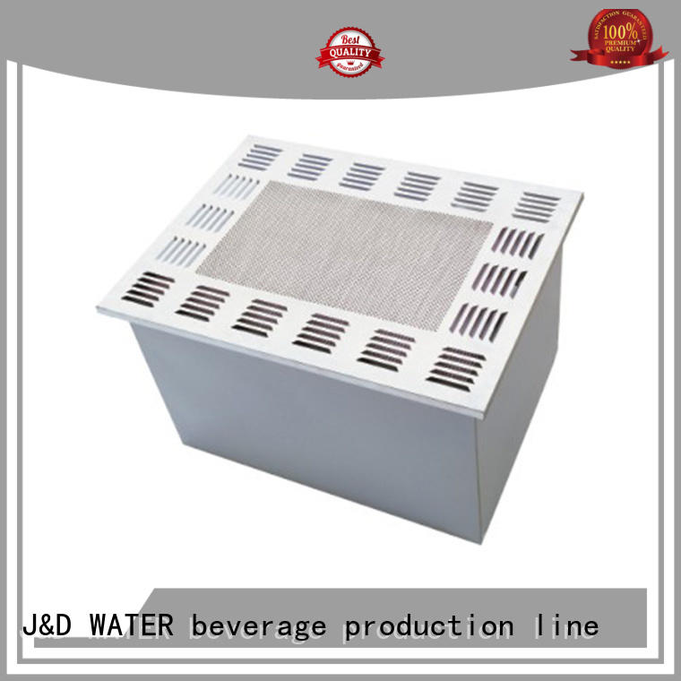 J&D WATER aseptic machine stainless steel for sauce