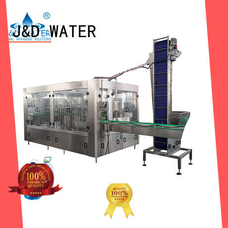 J&D WATER filling capping machine factory for tea