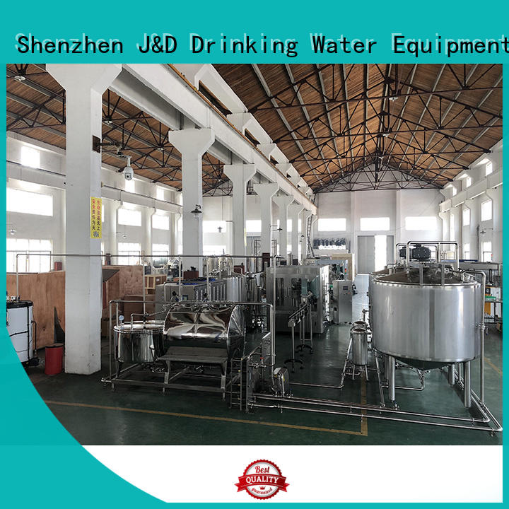 J&D WATER energy saving mineral water machine engineering for oil