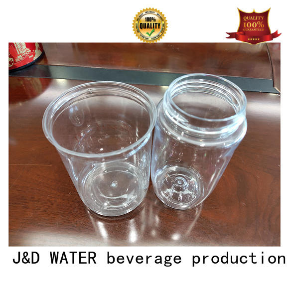 J&D WATER aluminum can from best factory