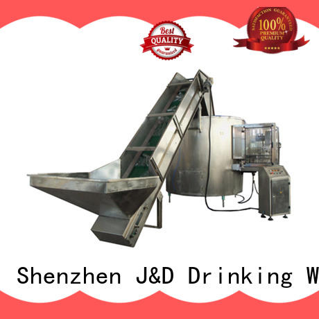 J&D WATER adjusted volumetric filling machine complete function for sauce
