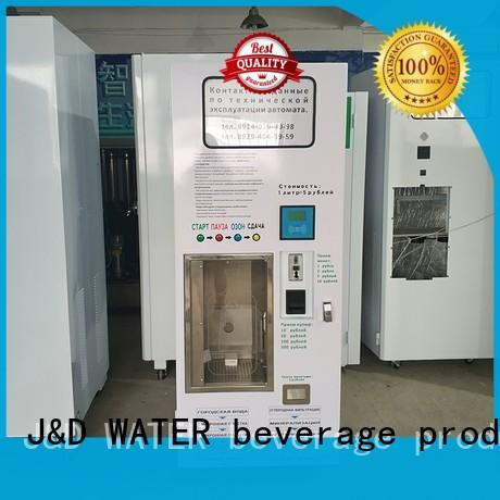 J&D WATER high efficiency vending machine china at best price