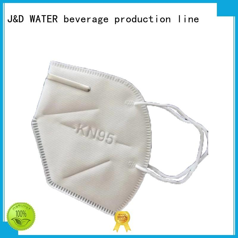 J&D WATER n95 filter mask factory supply manufacturing
