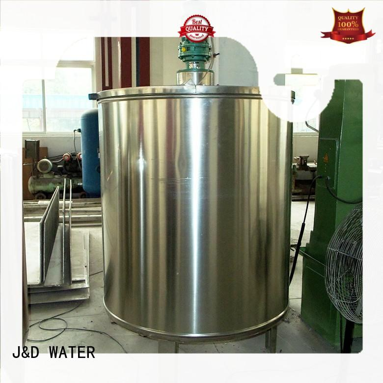 J&D WATER easy operation mixing tank best price for customization